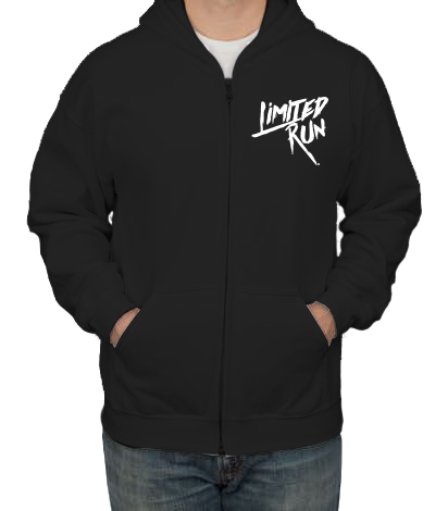 Limited Run Zip Hoodie (Black)