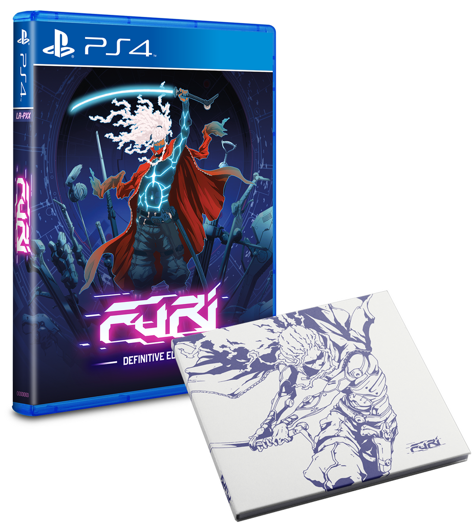 Limited Run #62: Furi Soundtrack Bundle (PS4)