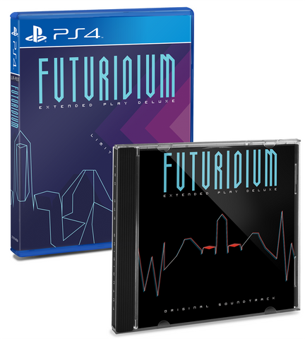 Limited Run #6: Futuridium EP Deluxe (PS4) Soundtrack Bundle