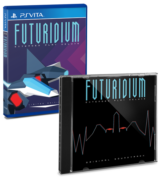 Limited Run #7: Futuridium EP Deluxe (Vita) Soundtrack Bundle
