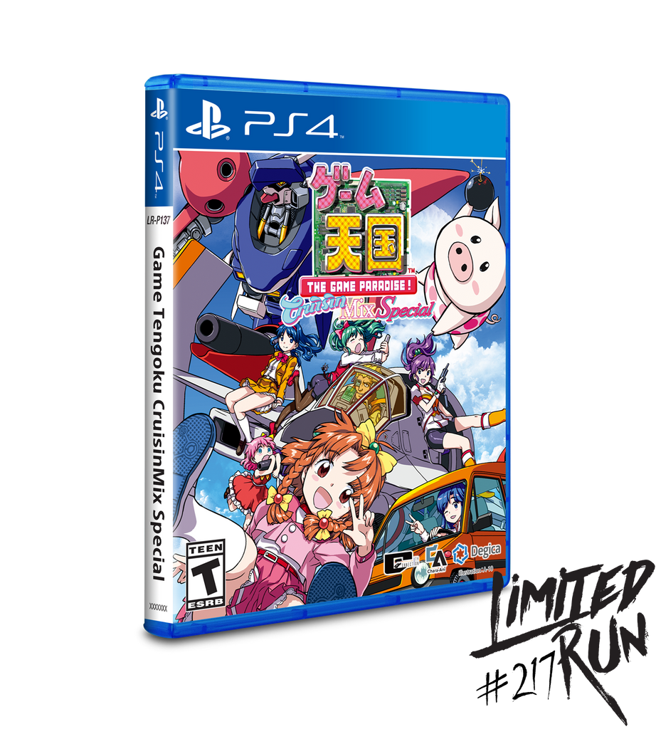Limited Run #217: Game Tengoku CruisinMix Special (PS4)