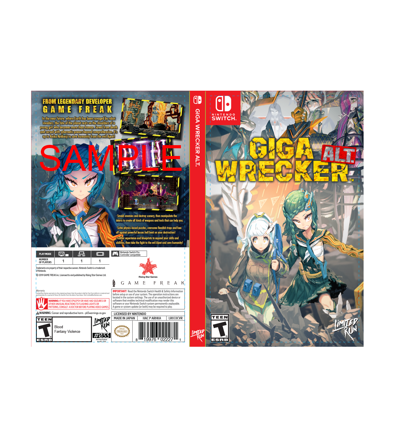 Best Buy Exclusive Cover Sheet Limited Run Games