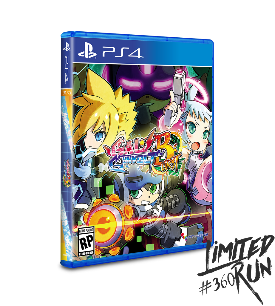 Limited Run #360: Gal*Gunvolt Burst (PS4)