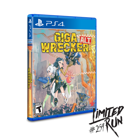 Limited Run #254: GIGA WRECKER Alt. (PS4) [PREORDER]