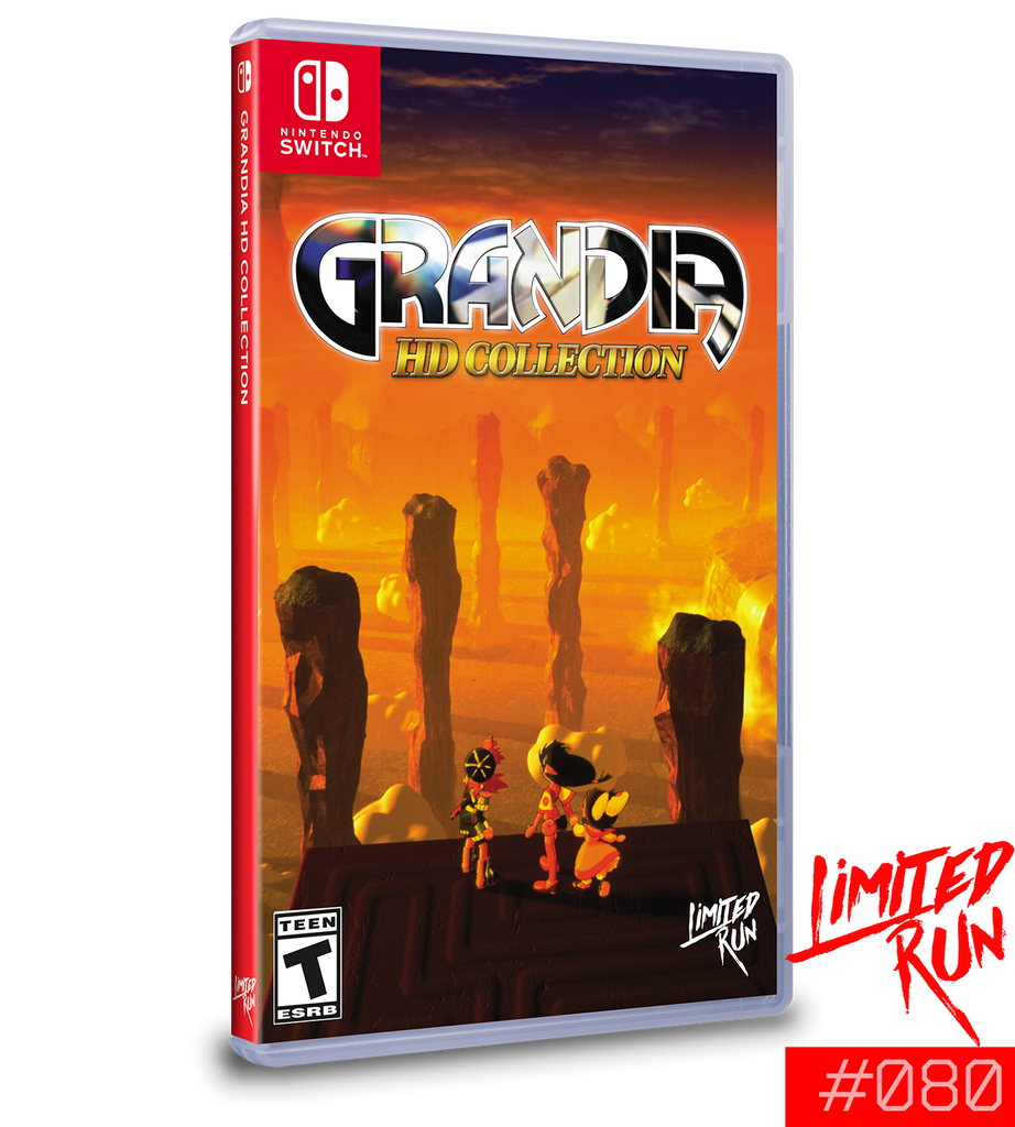 Switch Limited Run #80: Grandia HD Collection