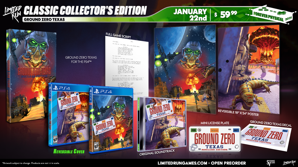 Limited Run #385: Ground Zero: Texas - Nuclear Edition Classic Edition (PS4)