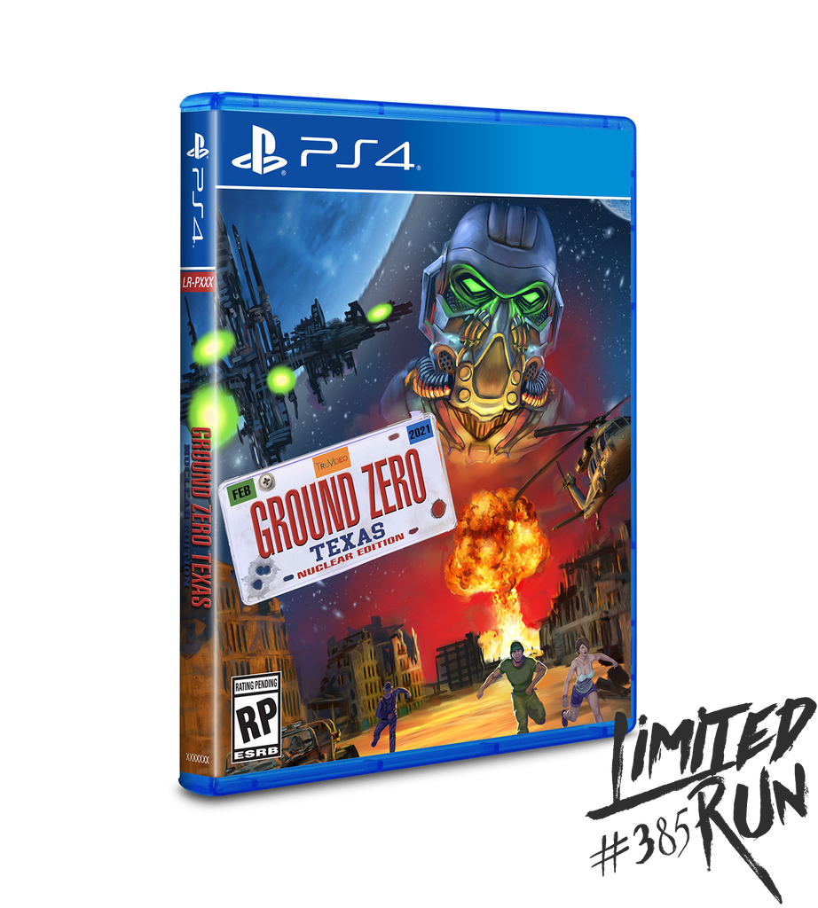 Limited Run #385: Ground Zero: Texas - Nuclear Edition (PS4)