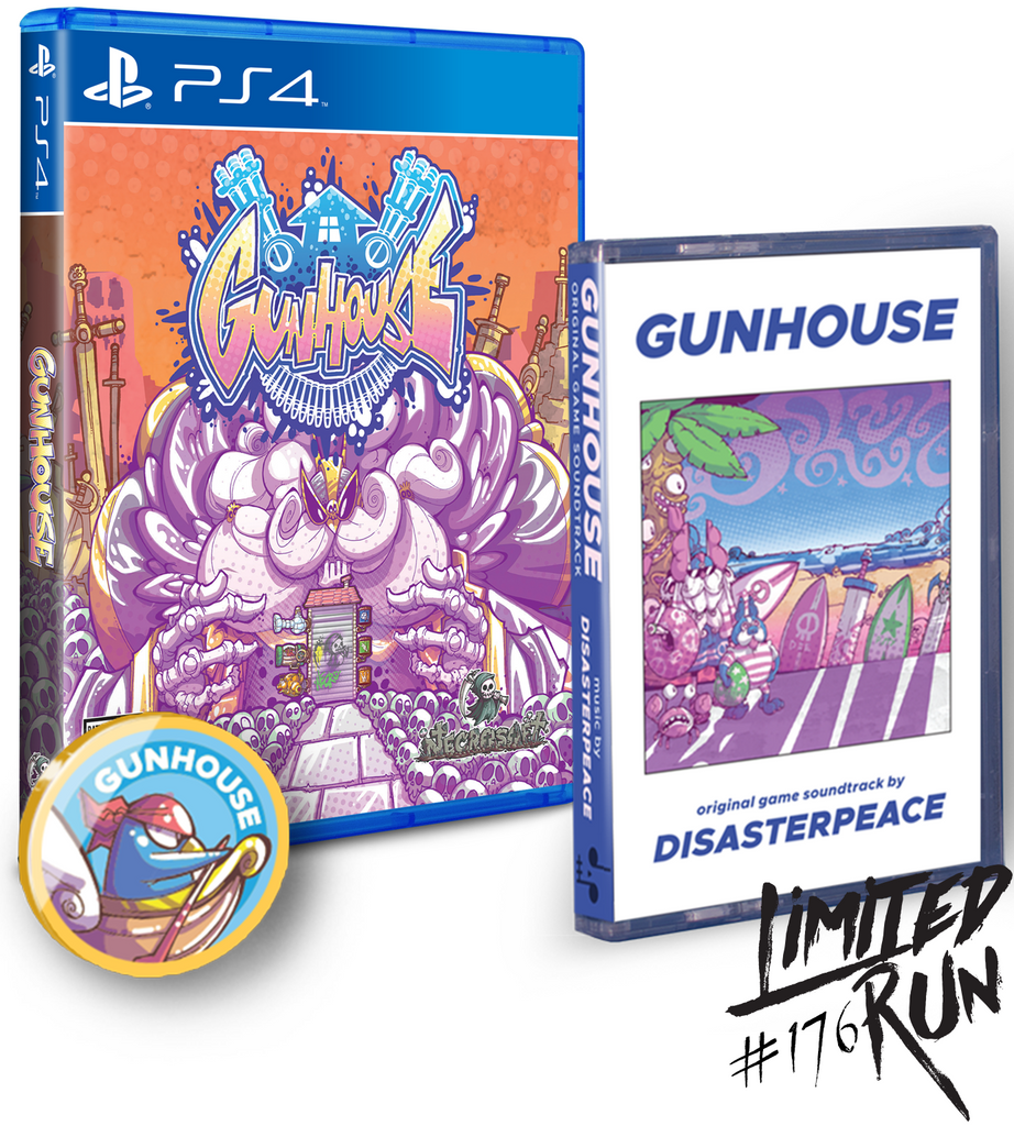 Limited Run #176: Gunhouse Soundtrack Bundle (PS4)