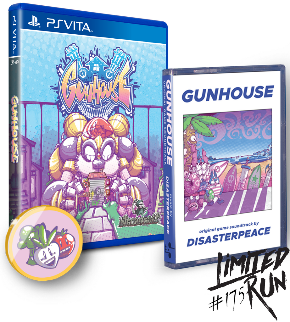 Limited Run #175: Gunhouse Soundtrack Bundle (Vita)