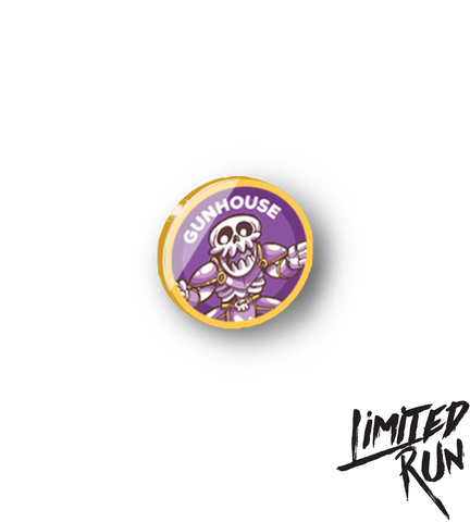 Gunhouse Enamel Pin