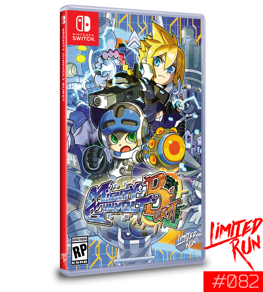 Switch Limited Run #82: Mighty Gunvolt Burst