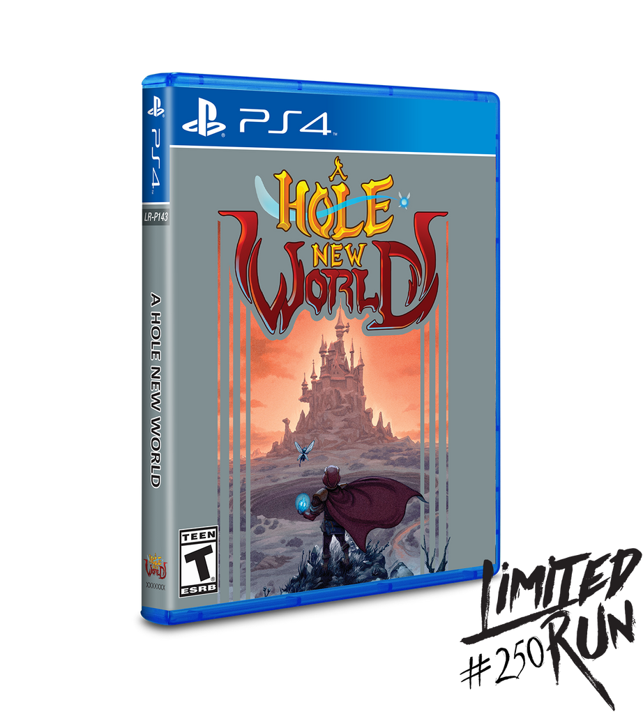 Limited Run #250: A Hole New World (PS4)