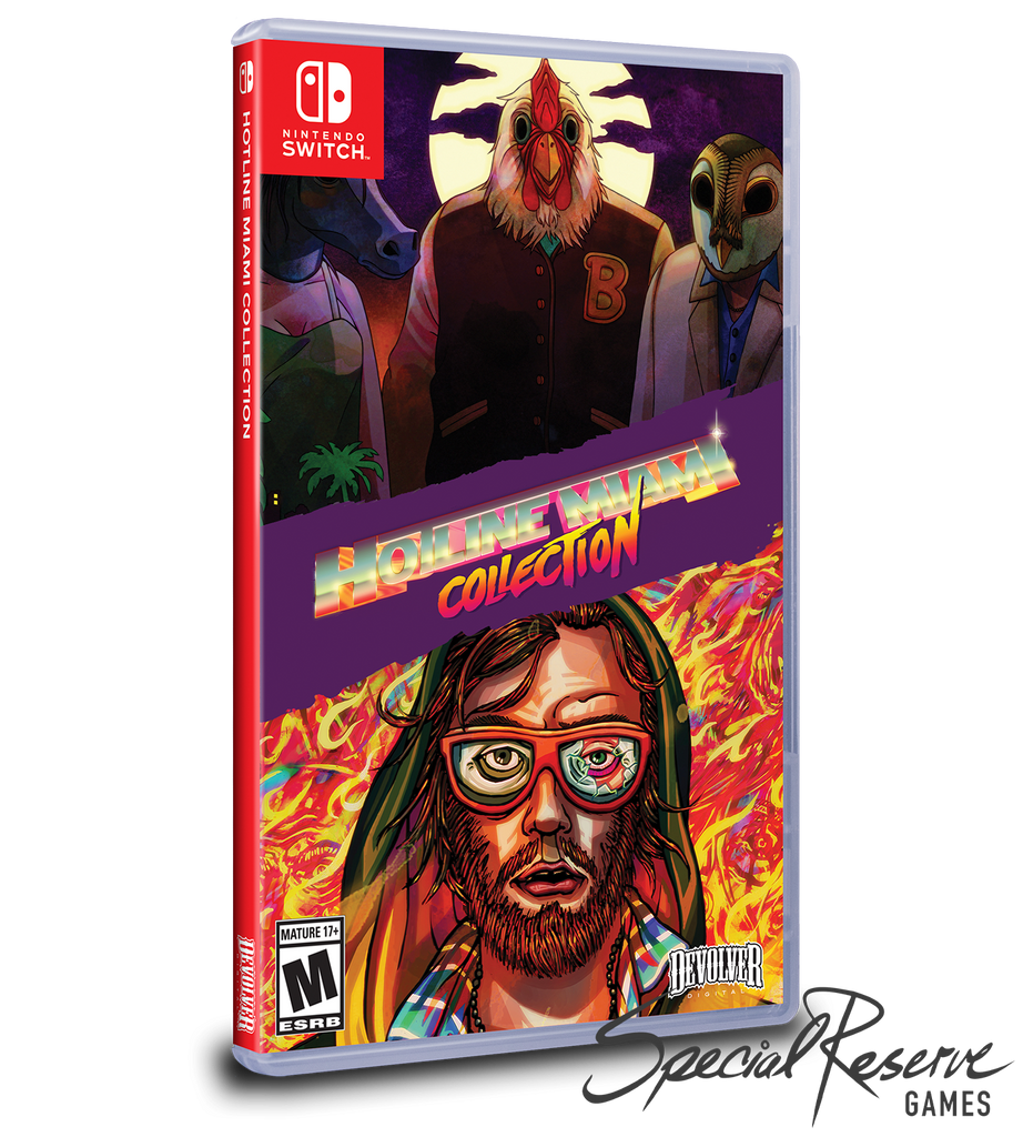 Hotline Miami (Switch) - Exclusive Variant