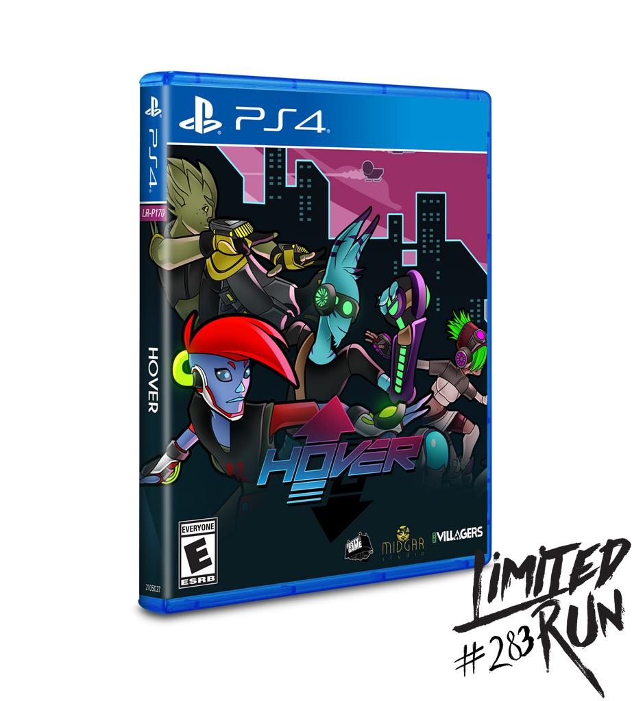 Limited Run #283: Hover (PS4)