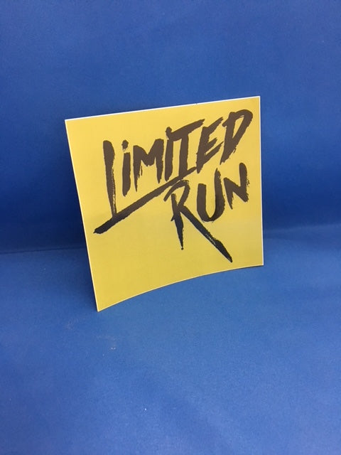 Limited Run Stickers