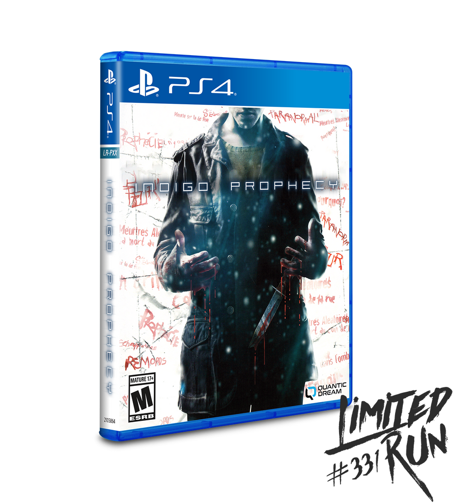 Limited Run #331: Indigo Prophecy (PS4) [PREORDER]