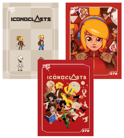 Iconoclasts Trading Card Set (3 Cards)