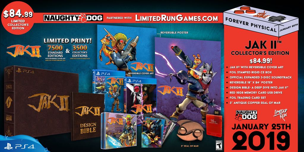 Limited Run #212: Jak II Collector's Edition (PS4)