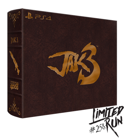 Limited Run #258: Jak 3 Collector's Edition (PS4)