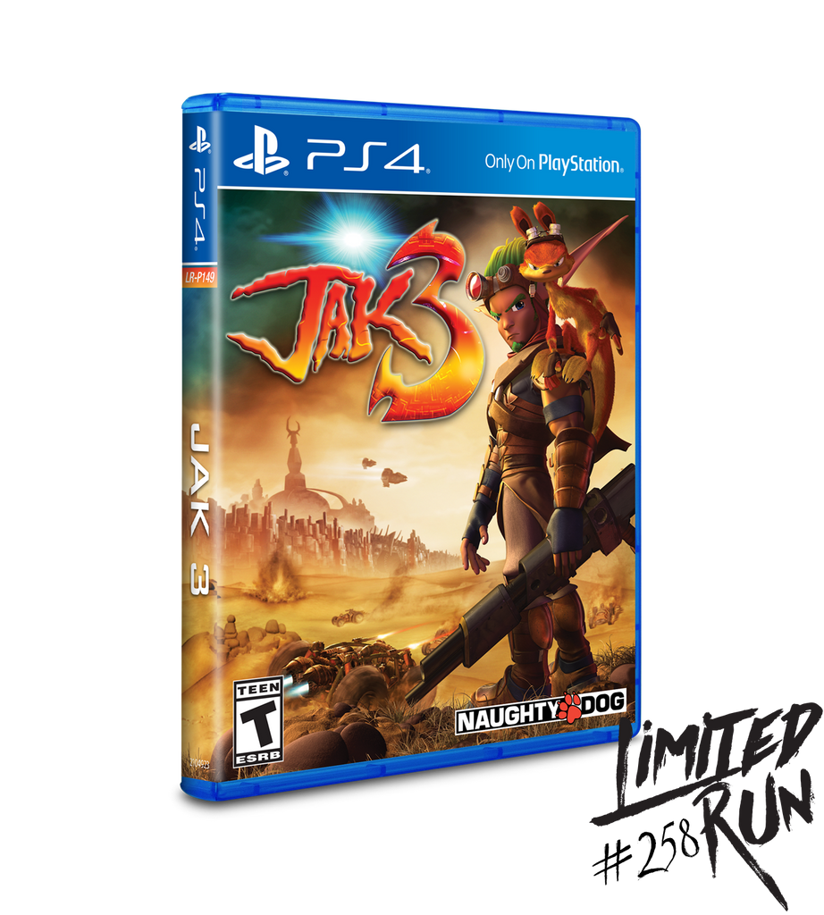 Limited Run #258: Jak 3 (PS4)