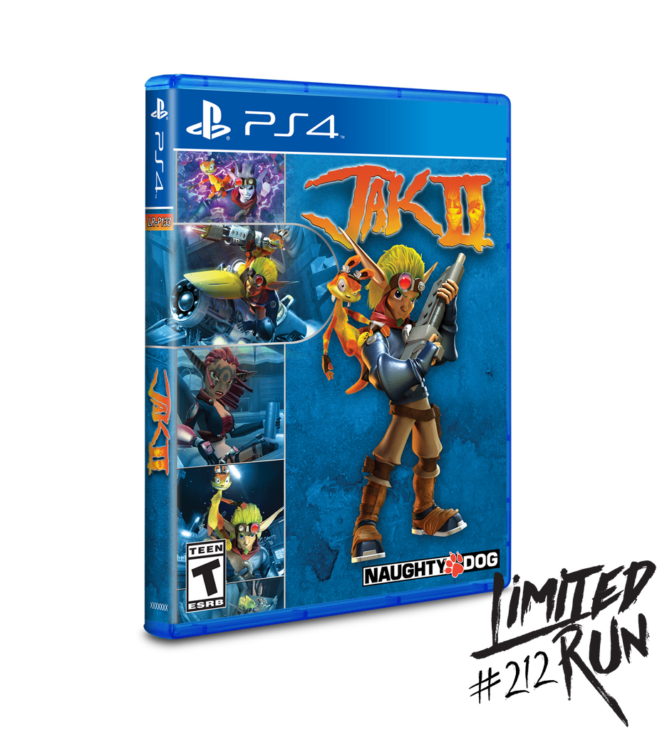Limited Run #212: Jak II (PS4)