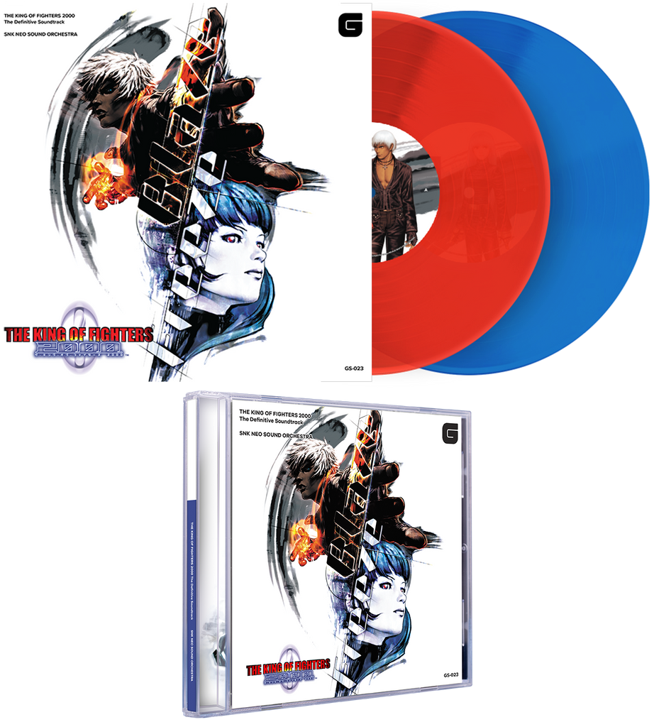 THE KING OF FIGHTERS 2000 Soundtrack (Vinyl or CD)