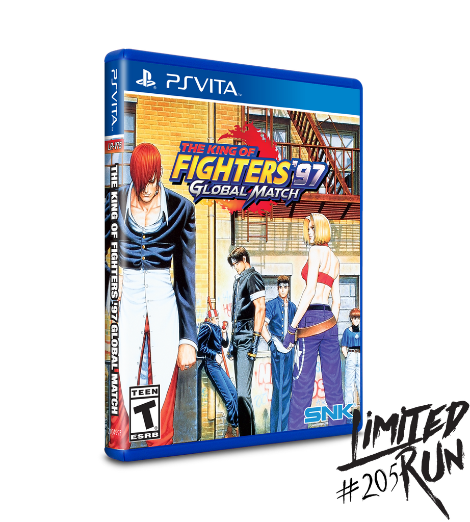 Limited Run #205: King of Fighters 97 Global Match (Vita)