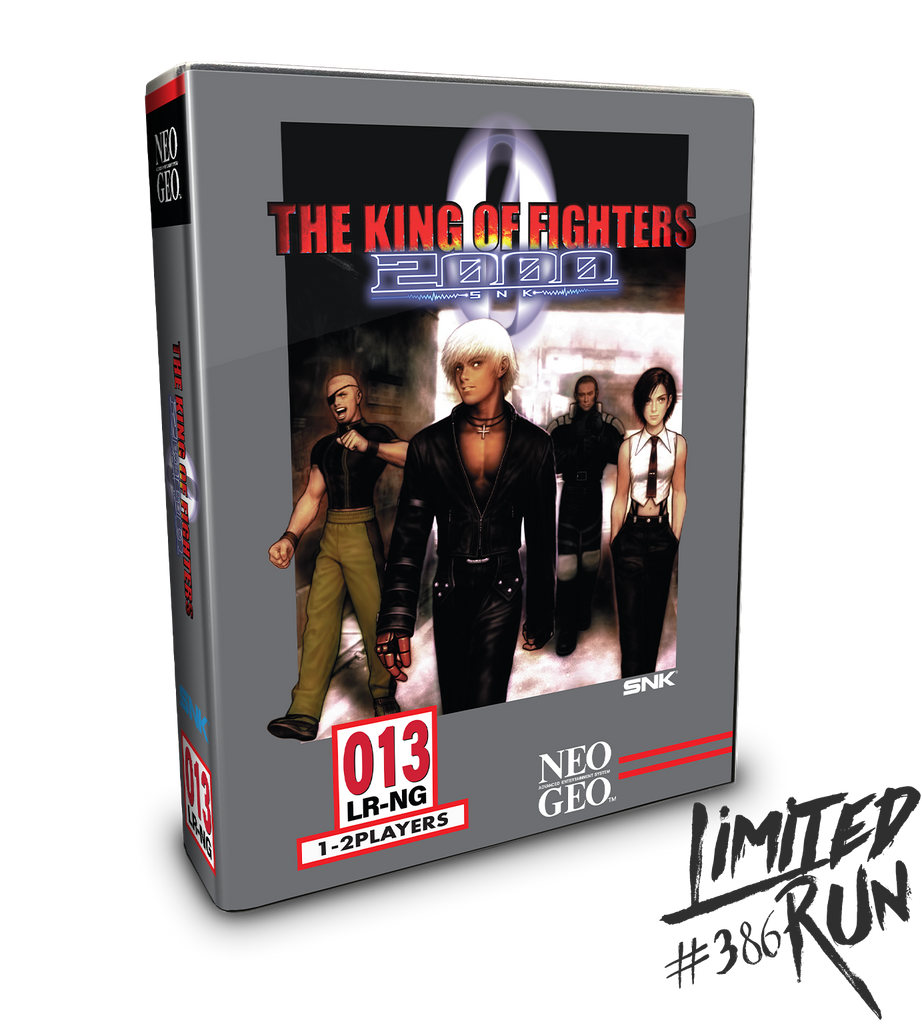Limited Run #386: The King Of Fighters 2000 Collector's Edition (PS4)