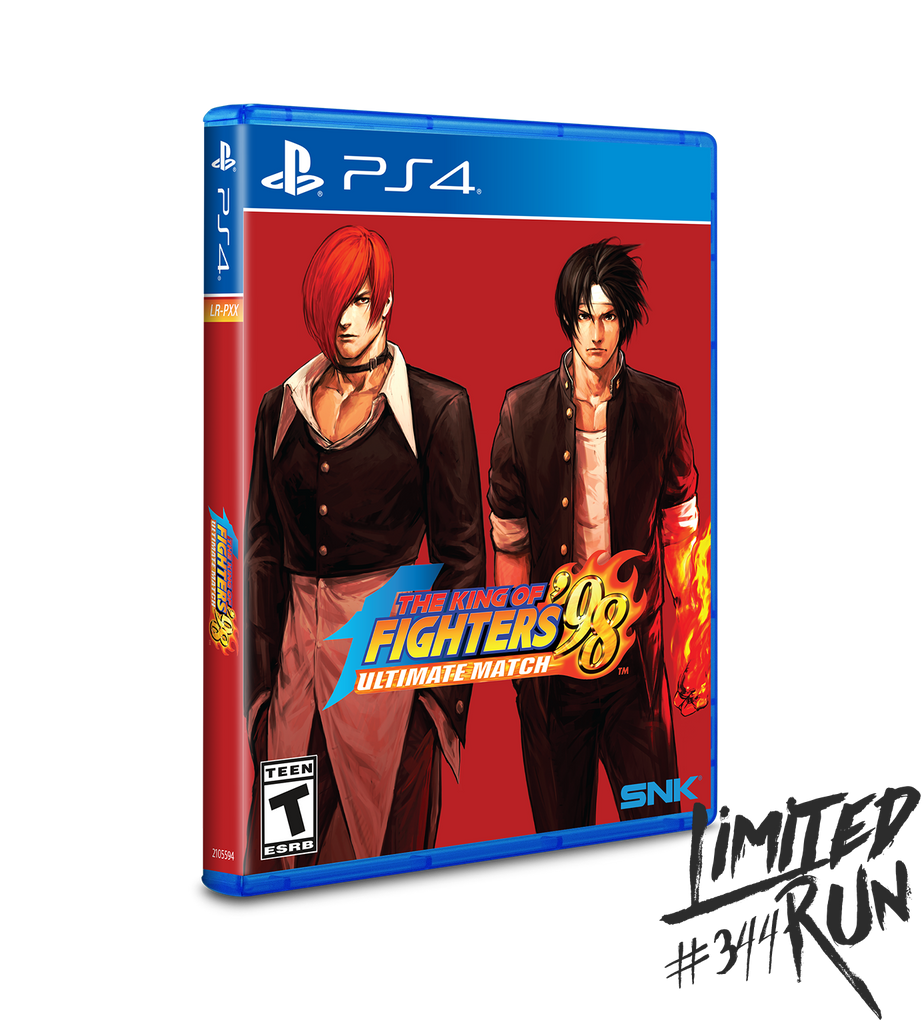 Limited Run #344: The King of Fighters '98 Ultimate Match (PS4)