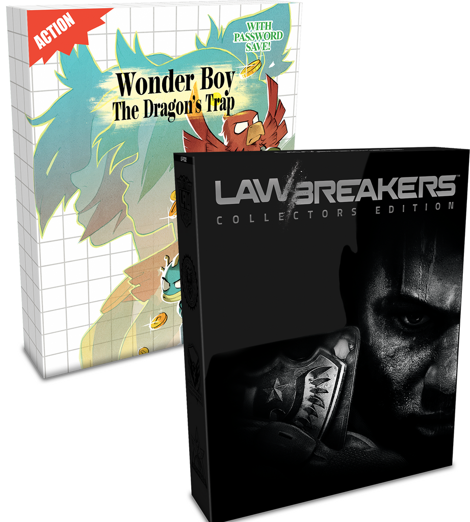 LawBreakers and Wonder Boy Collector's Bundle (PS4)