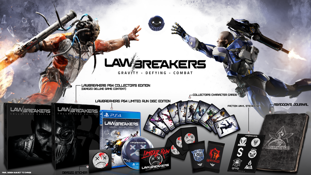 LawBreakers Collector's Edition (PS4)