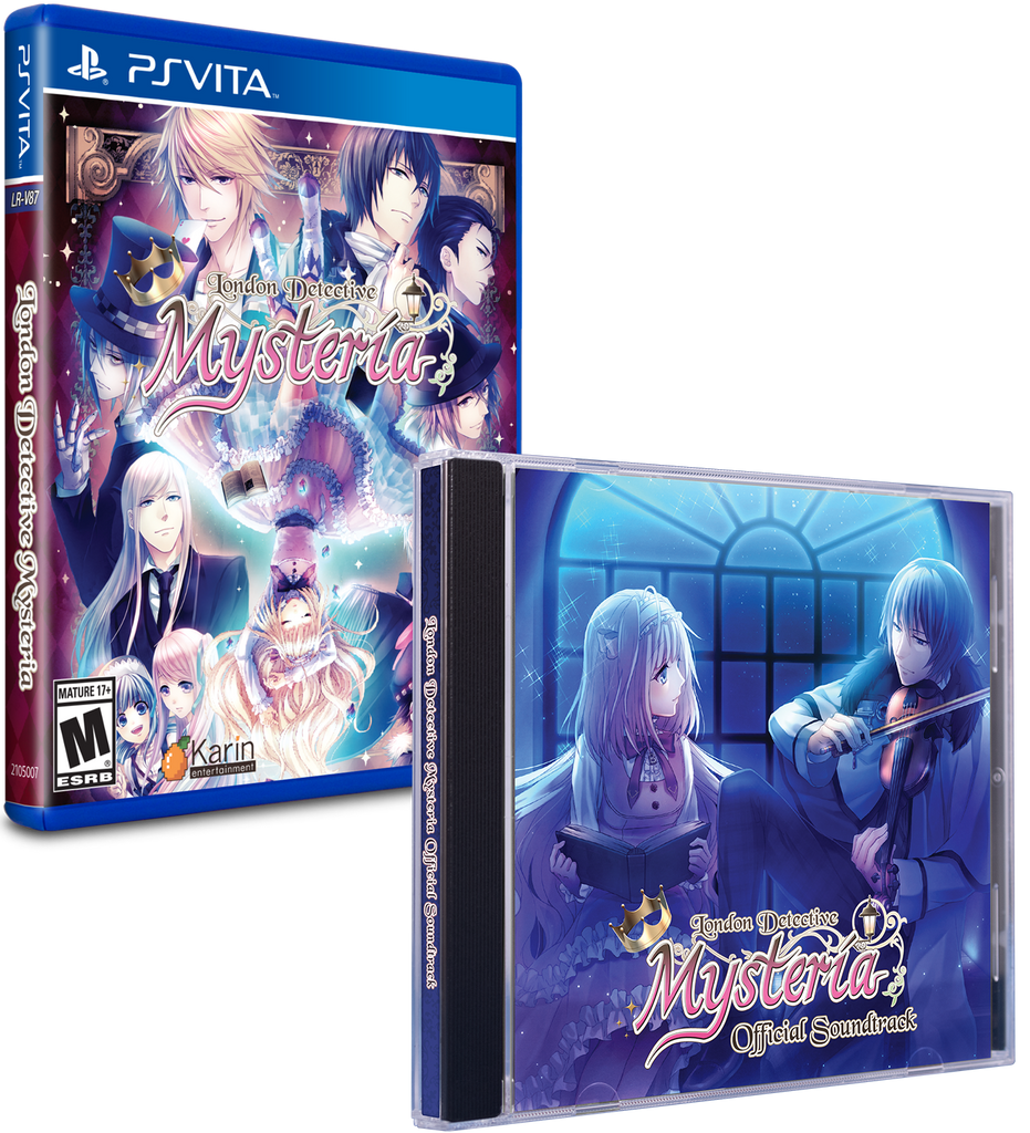 Limited Run #229: London Detective Mysteria Soundtrack Bundle (Vita)