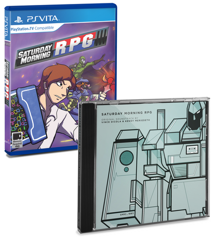 Limited Run #3: Saturday Morning RPG (PS Vita) Soundtrack Bundle