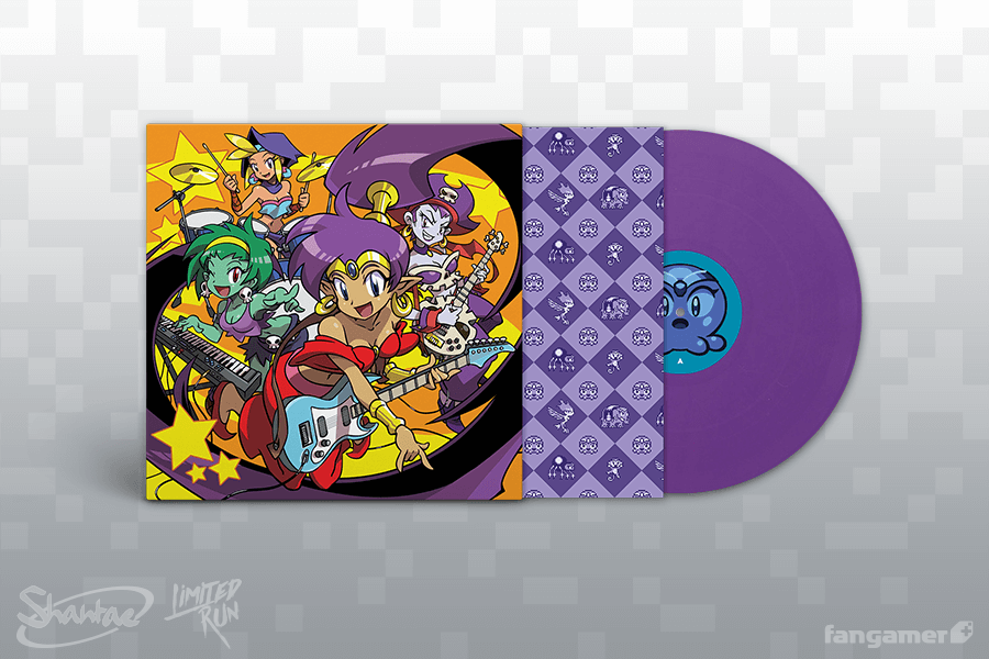 Shantae GBC Vinyl Soundtrack Purple Variant