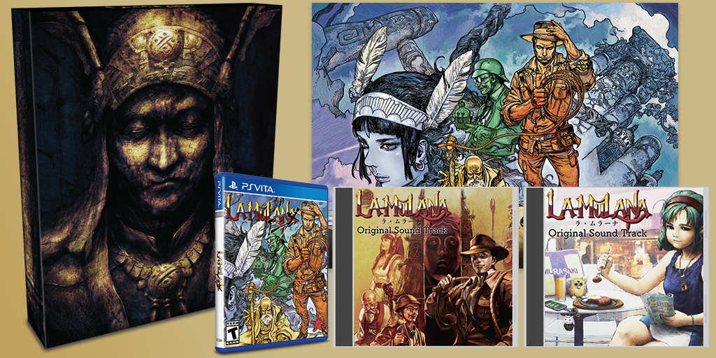 Limited Run #93: La-Mulana EX Collector's Edition (Vita)