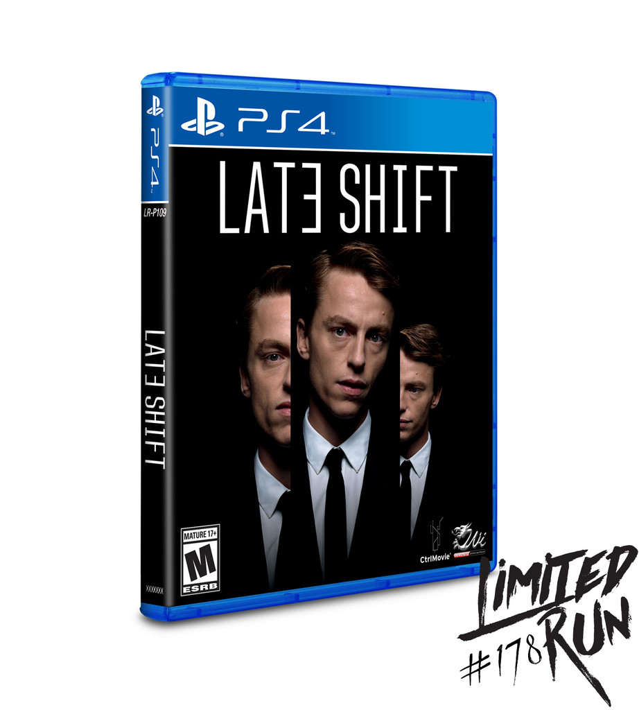 Limited Run #178: Late Shift (PS4)
