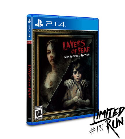 Limited Run #181: Layers of Fear (PS4)