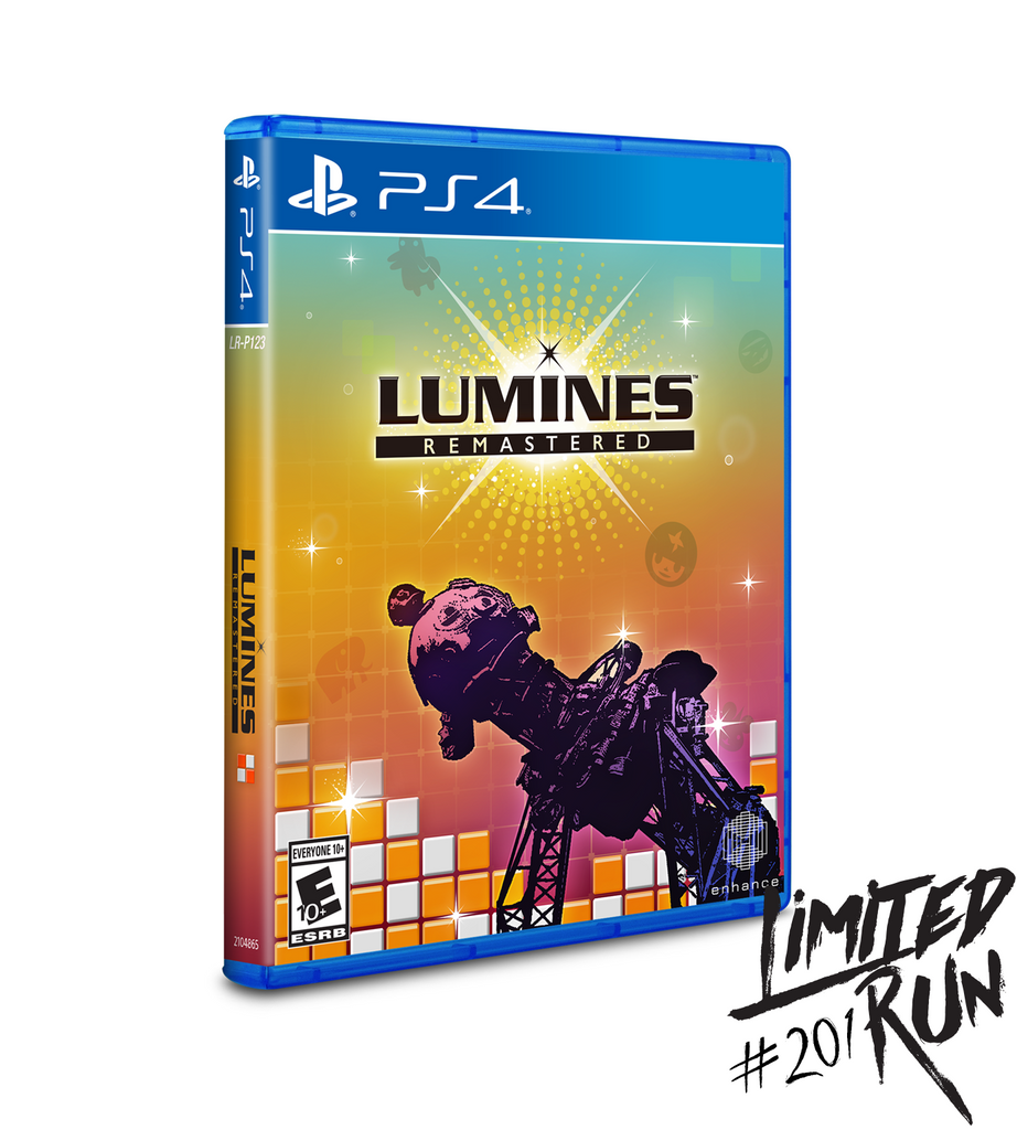 Limited Run #201: Lumines Remastered (PS4) [PREORDER]