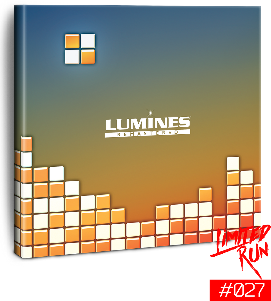 Switch Limited Run #27: Lumines Remastered Deluxe Edition