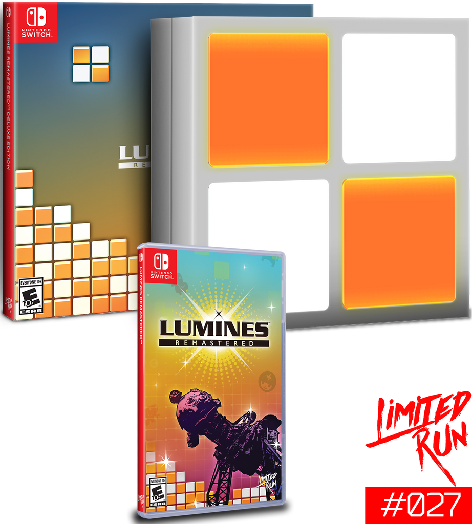 Lumines Nintendo Switch Mega-Bundle