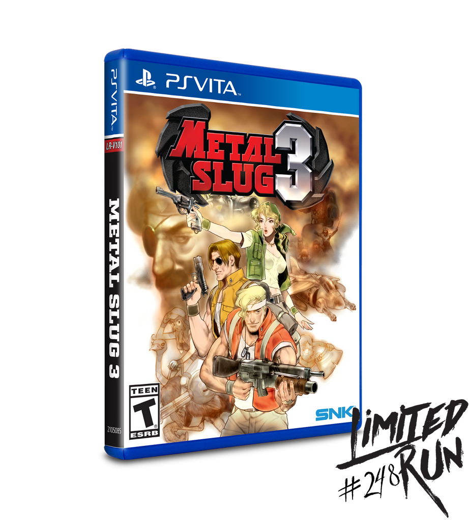 Limited Run #248: Metal Slug 3 (Vita)