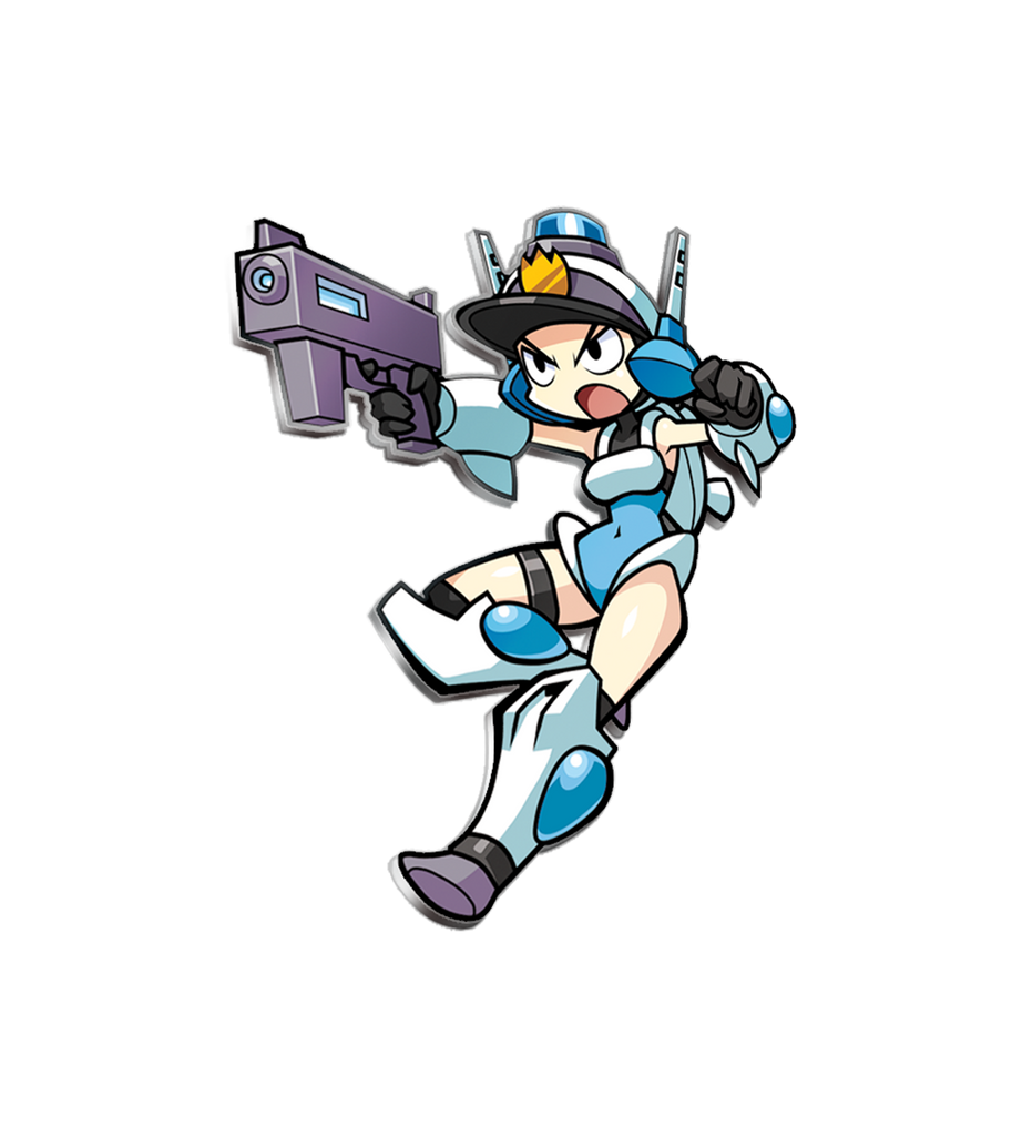 Mighty Switch Force Enamel Pin (PAX Exclusive)