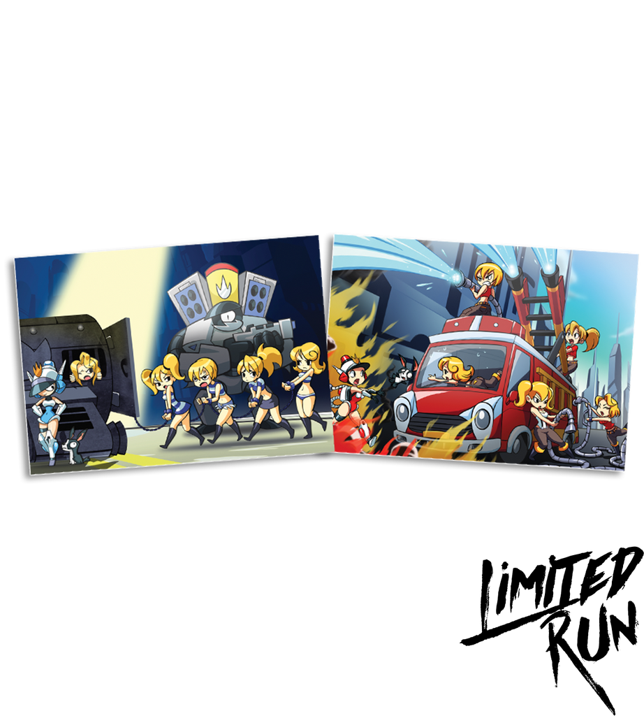 Mighty Switch Force Trading Card Set (PAX Exclusive)
