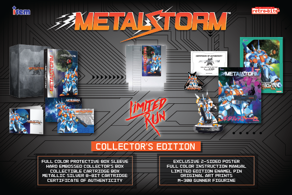 Metal Storm Collector's Edition (NES)