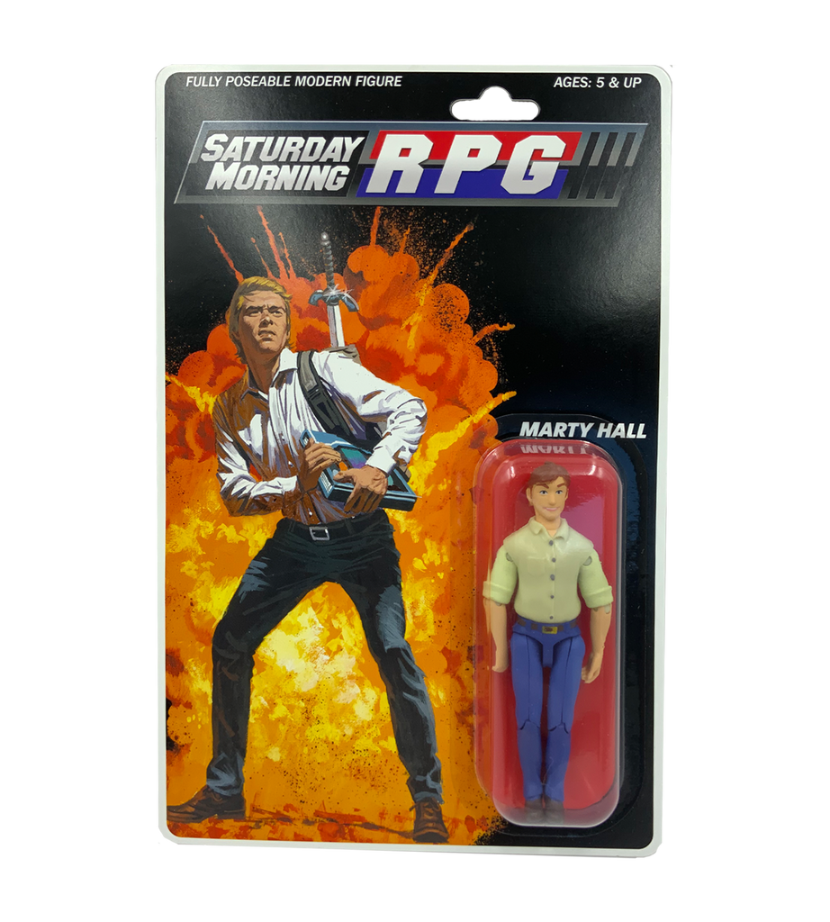 Saturday Morning RPG Marty Hall Action Figure