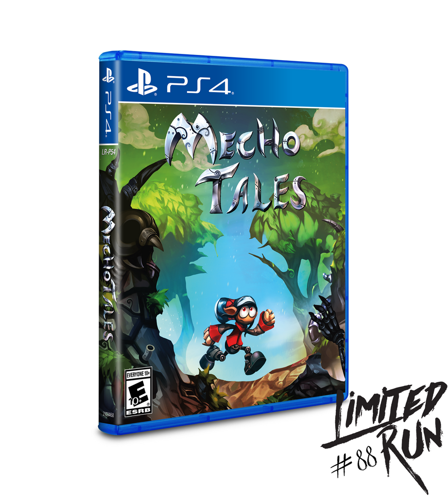 Limited Run #88: Mecho Tales Developer Edition (PS4)
