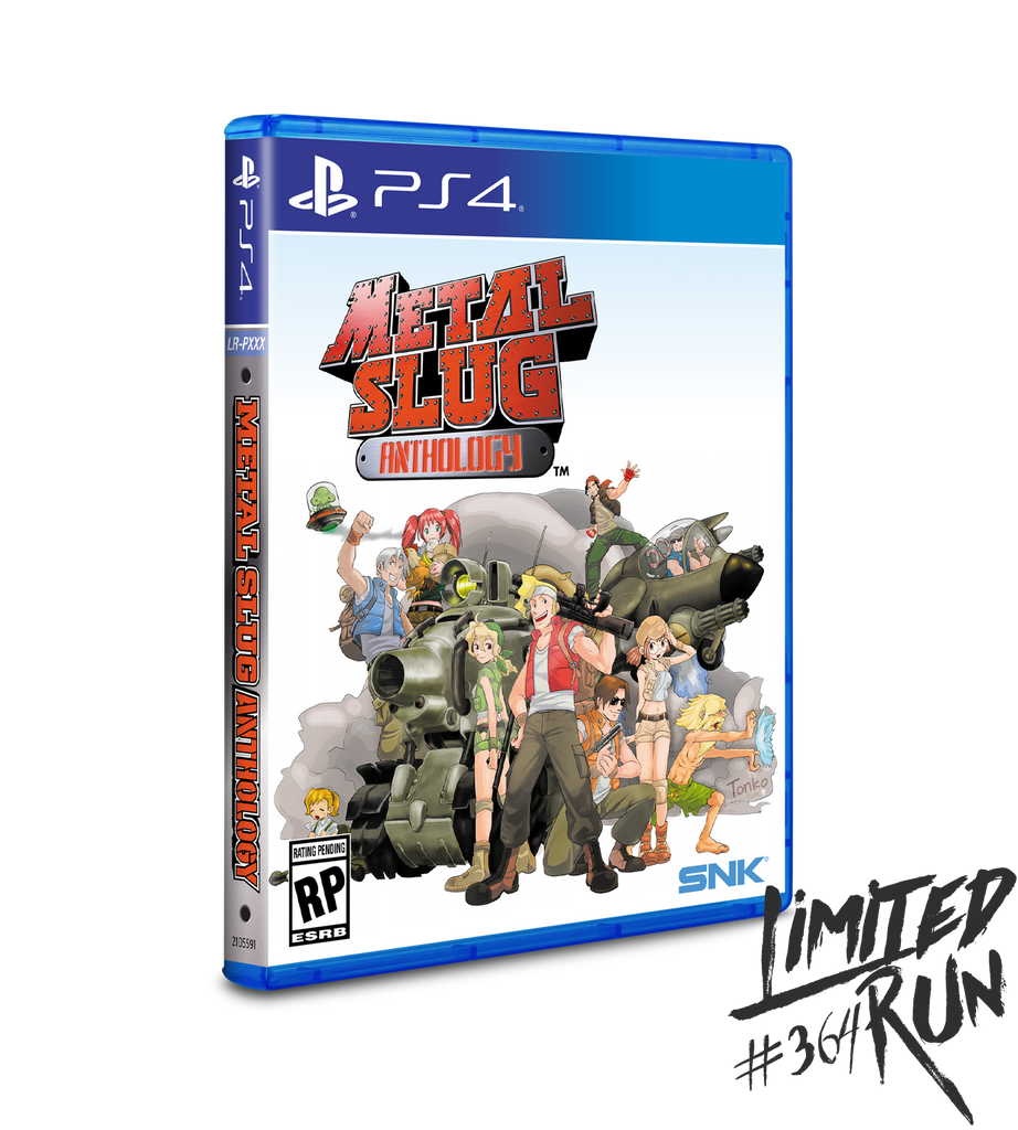 Limited Run #364: Metal Slug Anthology (PS4)