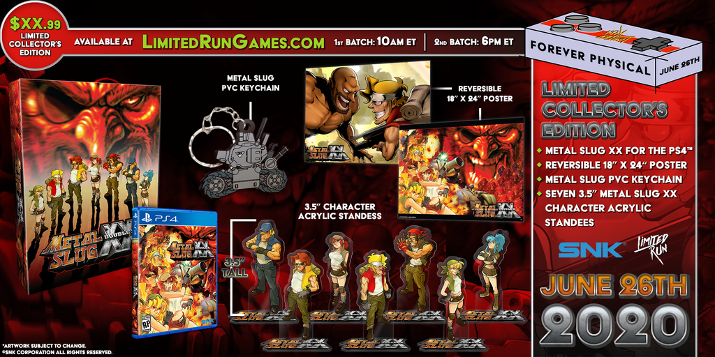 Limited Run #352: Metal Slug XX Collector's Edition (PS4)