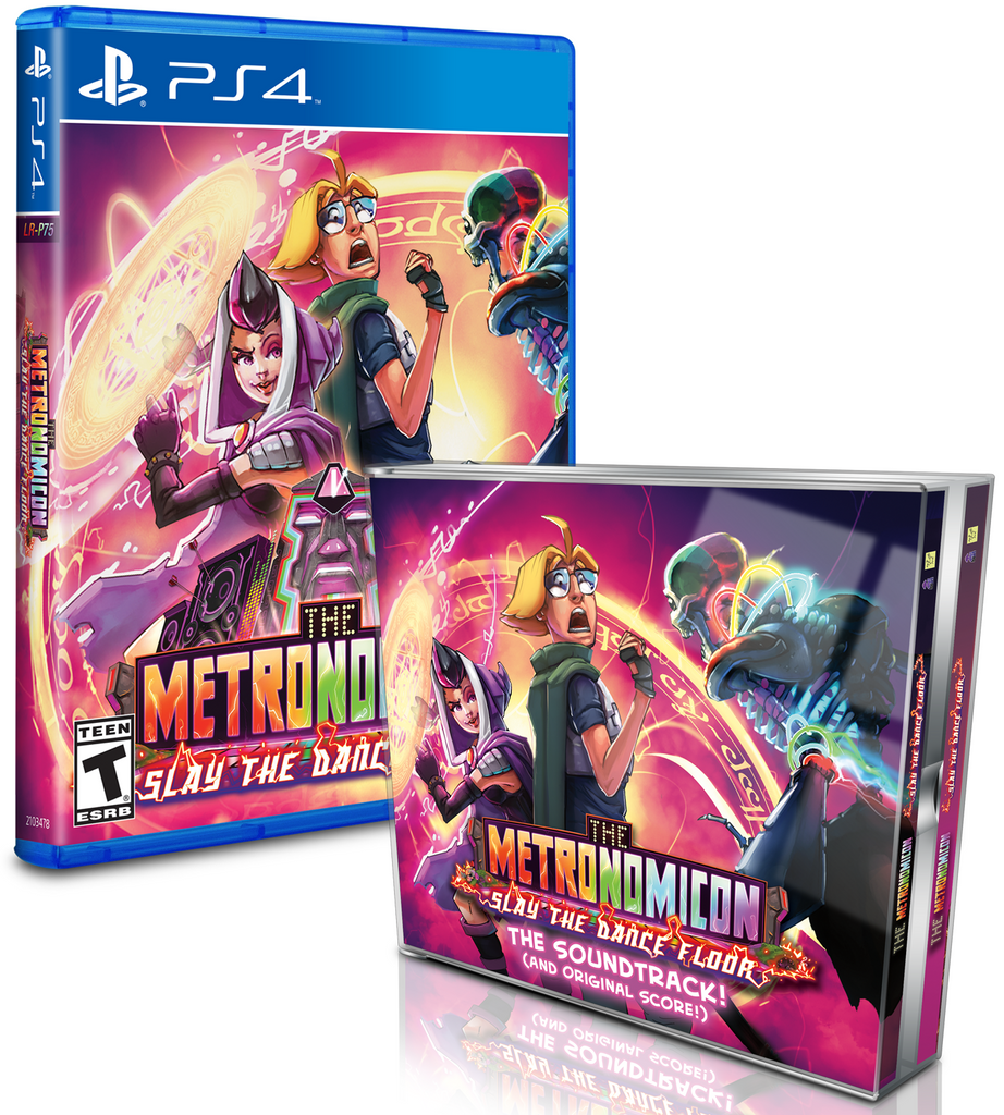 Limited Run #124: Metronomicon Soundtrack Bundle (PS4)