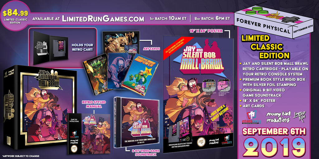 Jay and Silent Bob Mall Brawl (NES) Premium Edition